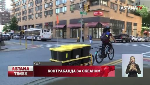 Арестованный в США казахстанец пытался вывести контрабанду на 50 млн.долларов