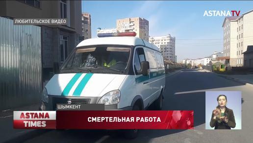 Во время установки лифта в Шымкенте погиб рабочий