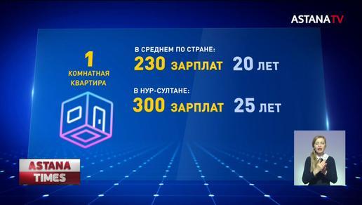 230 зарплат нужно отложить казахстанцу, чтобы купить квартиру