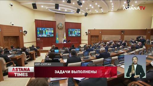 Предвыборные обязательства партии «Nur Otan» выполнены