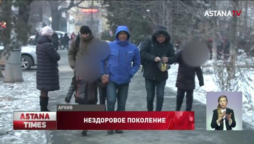 Каждый десятый ребенок до пяти лет в Казахстане имеет избыточный вес