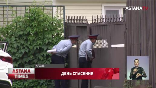 """Полицейский """"Баха"""" спас подростка от суицида: видео растрогало казахстанцев"""