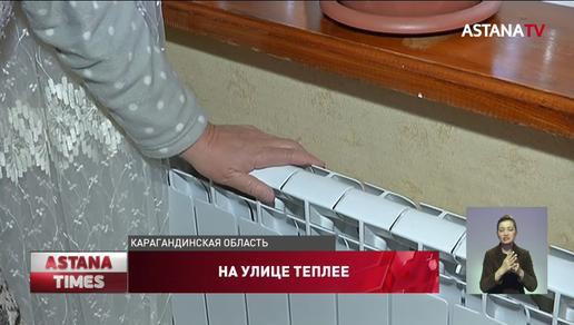 «Греемся на улице», - жители Темиртау замерзают в своих квартирах