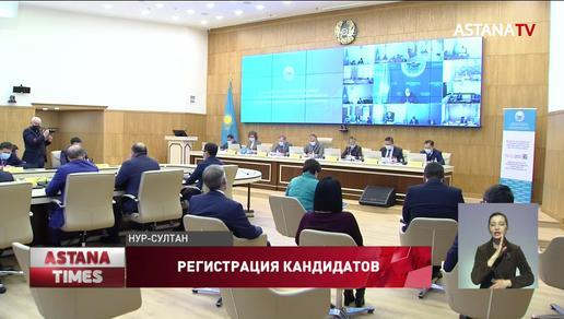"""Центризбирком зарегистрировал кандидатов в Мажилис от партии """"Nur Otan"""""""