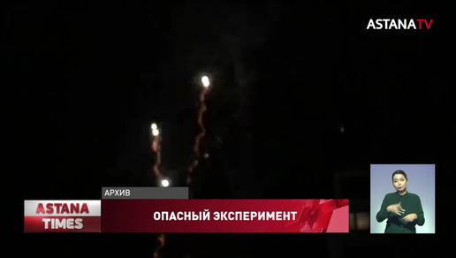 Сколько пальцев может оторвать простой фейерверк показали спасатели Усть-Каменогорска