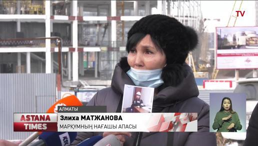 Алматыда балет театрының құрылысы кезінде жұмысшы қайтыс болды