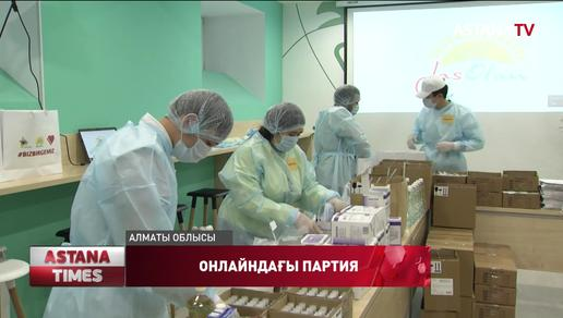 «Nur Otan» халықпен онлайн байланыс орнатты