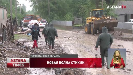 """""""Воды было по пояс"""", - жители о первых минутах наводнения в Туркестанской области"""