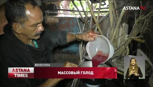 Люди пьют кровь животных, чтобы не умереть от голода в Венесуэле