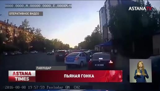 """На семь лет могут лишить водительских прав """"алкогонщика"""" из Павлодара"""