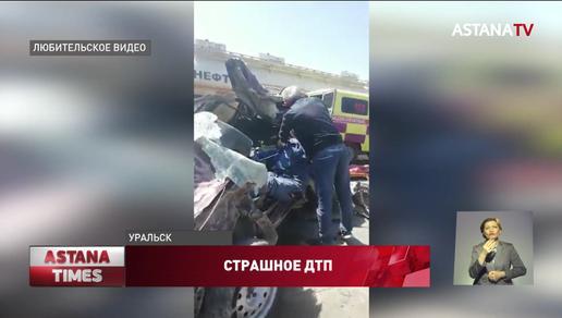 "Пациентка ""скорой"" помощи погибла во время ДТП в ЗКО"