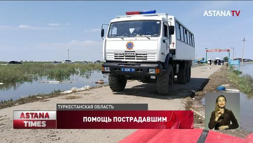Государство поможет пострадавшим от наводнения в Туркестанской области, - Р. Скляр