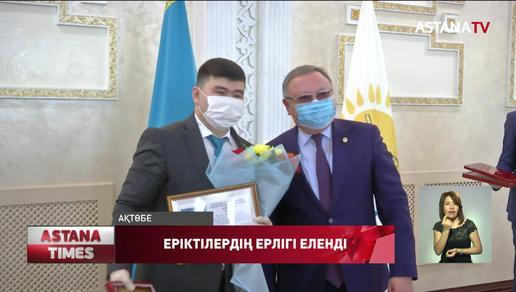 Ақтөбелік еріктілер «Biz Birgemiz» акциясы аясында 10 мыңға жуық отбасыға көмек көрсеткен