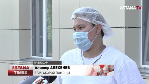 """Врачи """"скорой"""" Павлодара рассказали о своей работе во время карантина"""