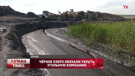 Чёрное озеро обязали убрать угольную компанию