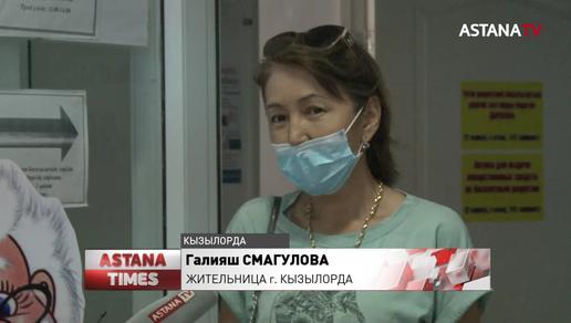 В Кызылорде снизилось число звонков в скорую помощь