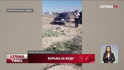 Экс-чиновник напал на членов партии «Nur Otan» в Алматинской области