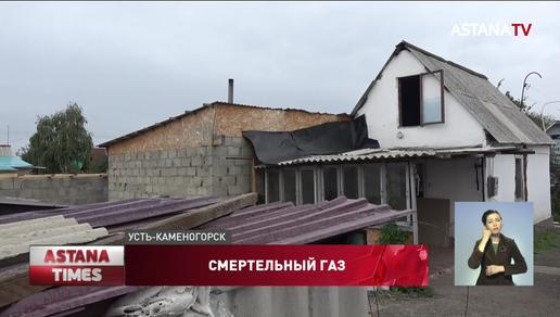 Мужчина нашел мёртвыми жену и сына в своем доме в Усть-Каменогорске