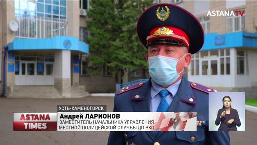 Особо опасный рецидивист пытался скрыться на угнанной машине в Алматы