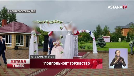 Гости выпрыгивали из окон ресторана, когда нагрянула полиция в Усть-Каменогорске