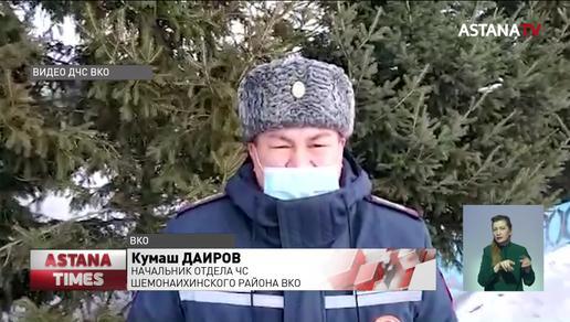 Десять человек оказались в снежной ловушке в ВКО
