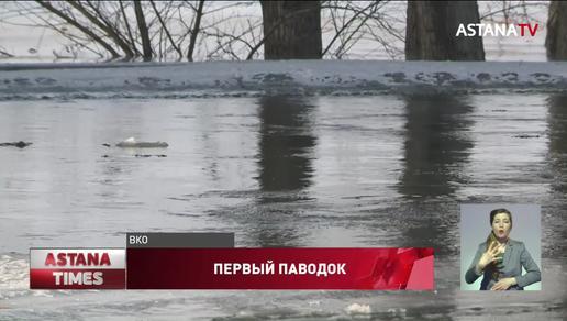 22 тысячи человек оказались под угрозой паводков в Восточном Казахстане