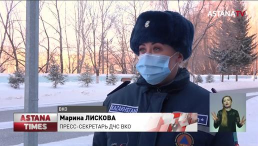 Два жителя Катон-Карагая едва не погибли по дороге в соседнее село