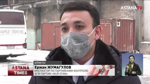 Полгода не получавшим зарплату строителям в Алматы выплатили деньги