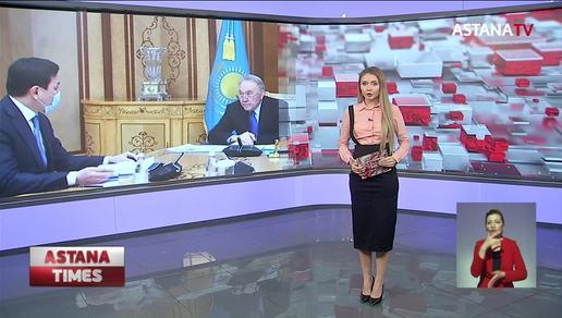 Елбасы принял акима столицы А. Кульгинова