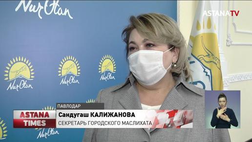 К реализации предвыборной программы приступили члены партии «Nur Otan» в Павлодарской области