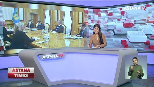 Қ.Тоқаев Еуропалық Одақ делегациясын қабылдады