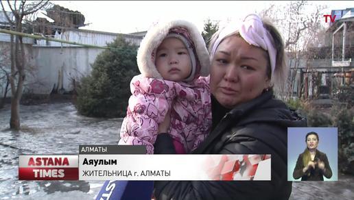 Пьяная соседка оставила шесть семей без крыши над головой в Алматы