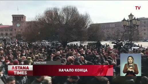 Протесты в Армении: армия требует отставки премьера