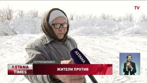 Пенсионеры бросаются под КАМАЗы, чтобы не допустить наводнения в Петропавловске