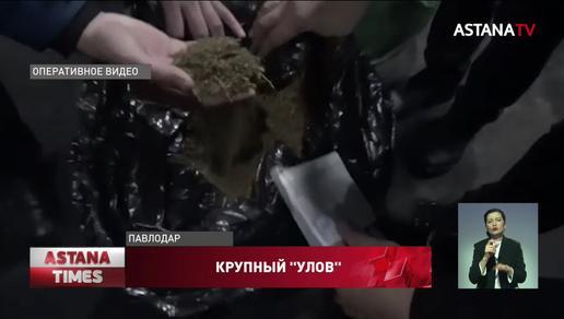 Крупную партию наркотиков уничтожили в Павлодарской области
