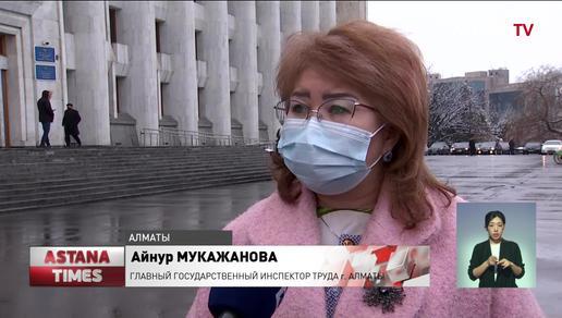 Строители лыжных трамплинов в Алматы 11 лет не могут получить заработную плату