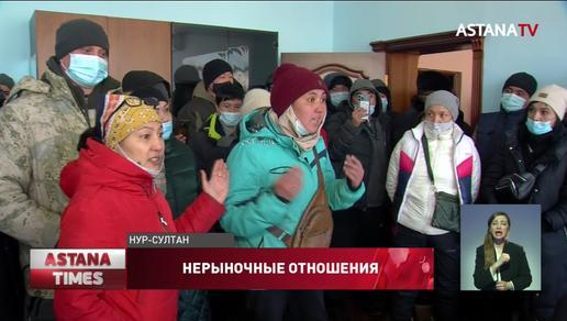 Продавцы столичного рынка устроили забастовку