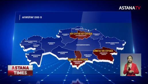 «Коронавирусный антирекорд»: в Казахстане резко выросло число заражённых