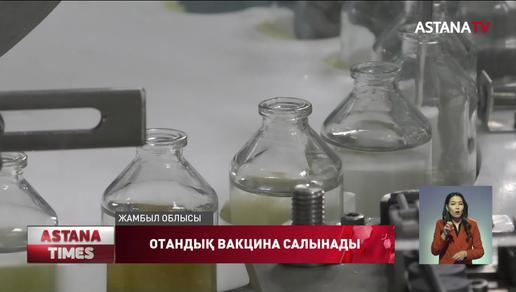 Қазақстандық «QazVac» вакцинасының бірінші партиясы зауыттан жөнелтілді