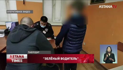 12-летнего подростка за рулем внедорожника задержали в Павлодаре