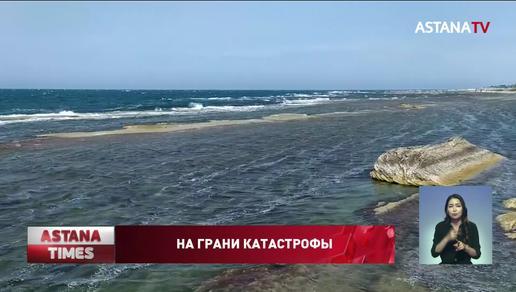 Каспийскому морю грозит экологическая катастрофа, - экологи