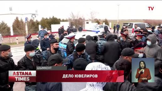 Задержание силовиками шымкентского бизнесмена вызвало массовый протест жителей