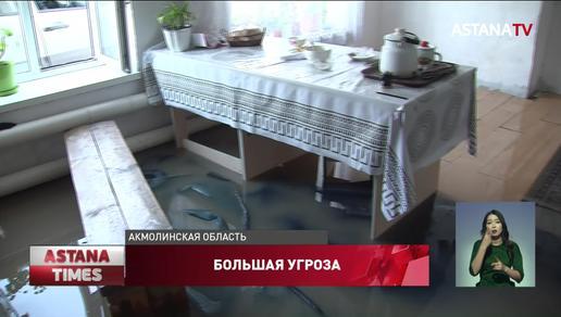 """Дом затопило за 15 минут"": под воду ушел поселок под столицей"