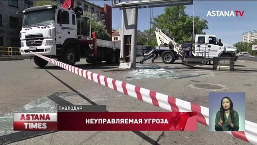 Семь человек пострадали в ДТП с автобусом в Павлодаре