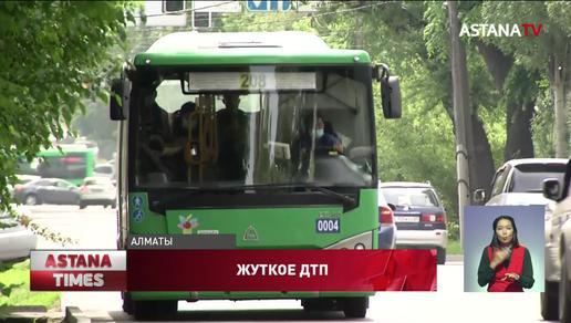 Женщину насмерть сбили на пешеходе в Алматы