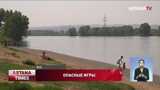 Дети утонули в поливном канале в Восточном Казахстане