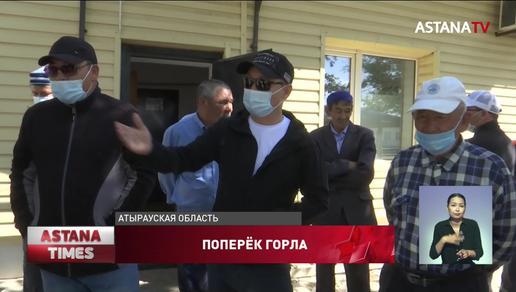 Задыхаются от пыли жители одного из сел Атырауской области
