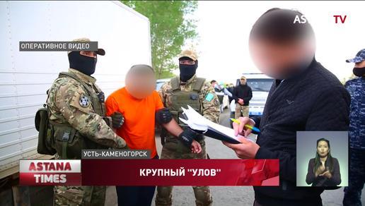 Международный канал поставки наркотиков ликвидировали в Восточном Казахстане