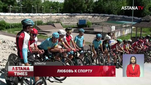 В Алматы заработает велотрек