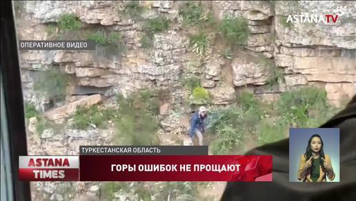 Троих из семи пропавших туристов нашли в горах Туркестанской области